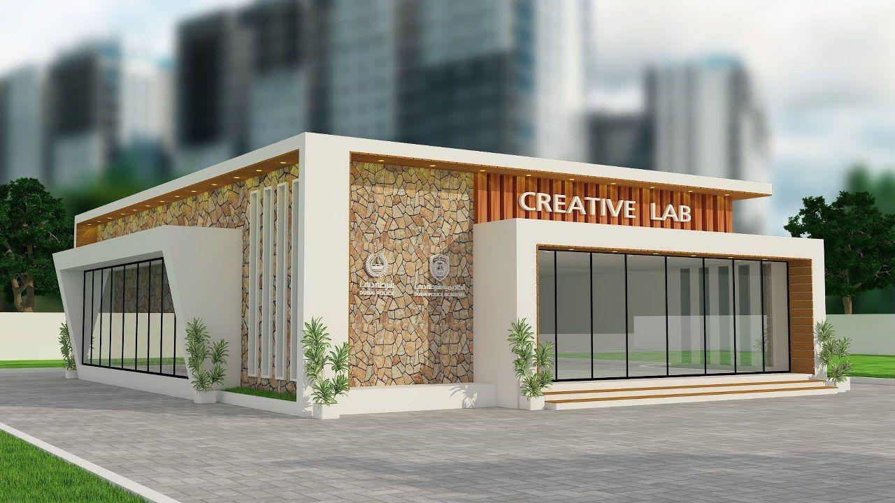 Dubai Police Academy Exterior Design Images (2)