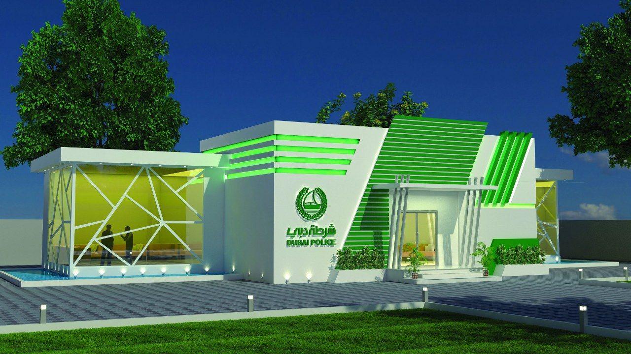 Dubai Police Academy Exterior Design Images (7)
