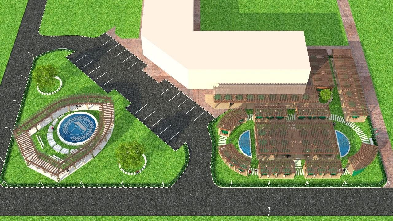 Dubai Police Landscape Design Images (3)