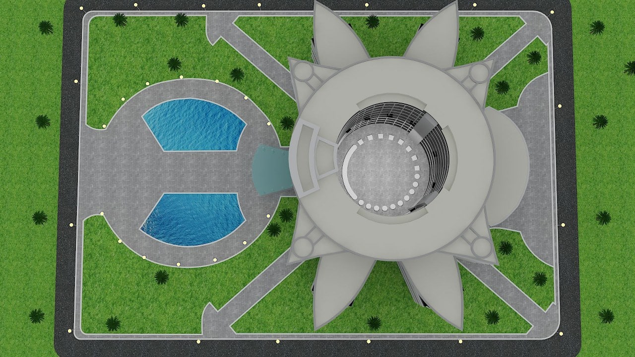 Dubai Police Landscape Design Images (7)